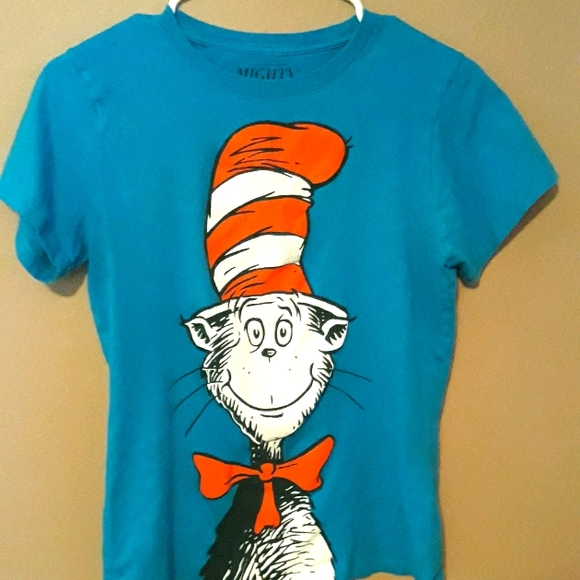 Kids Cat in the hat tshirt